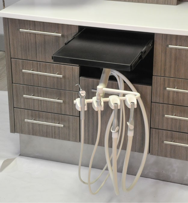 Dental Office Furniture Rear Delivery System