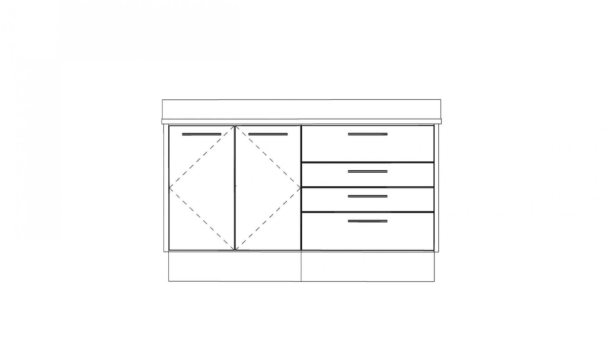 Dental operatory cabinet and furniture